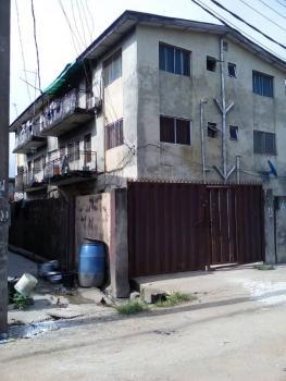 a Block of 6 Units 3 Bedroom House, Shodipo Street, Adekunle, Yaba, Lagos, Block of Flats for Sale