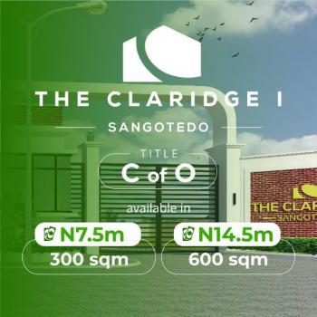 About 600 Sqm Land in an Estate, Sangotedo, Abijo Gra, Ibeju Lekki, Abijo, Lekki, Lagos, Residential Land for Sale