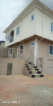 New 4 Numbers of 2 Bedroom with Bq on Full Plot with C of O, Estate College Road, Ogba, Ikeja, Lagos, Block of Flats for Sale