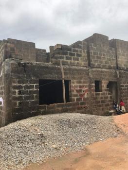 Uncompleted 4 Bedroom Flat (storey Building), Very Close to Grammar School, Erunwen, Ikorodu, Lagos, Block of Flats for Sale