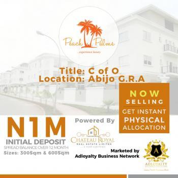 Peach Palms, Abijo, Lekki, Lagos, Mixed-use Land for Sale