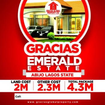 Product of The Day, Emerald Estate, Emerald Estate,abijo Is Located Right Opposite The Abijo Gra at Lekki-epe Expressway Axis, After Ajah and Sangotedo ., Lekki Expressway, Lekki, Lagos, Residential Land for Sale