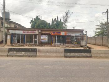 Prime Plot of Land (corner Piece) with 9 Shops, College Road, Ogba, Ikeja, Lagos, Mixed-use Land for Sale