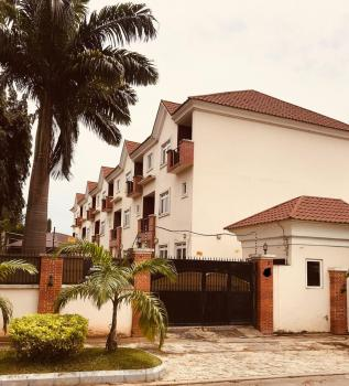 Exotic 4-bedroom Terraced Duplex with Swimming Pool,  24 Hours Light, a Room Bq, Wuse 2, Abuja, Terraced Duplex for Rent