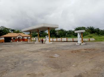 Functioning Petrol Station with All Necessary Facilities on 2plots of Land, Ore Benin Express Road, Odigbo, Ondo, Commercial Property for Sale