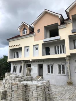 5 Bedroom Terrace Duplex with a 1 Bedroom Basement, Guzape District, Abuja, Terraced Duplex for Sale