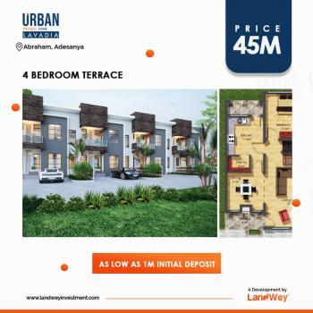 4 Bedroom Terraced Duplex, Ogombo Road, Abraham Adesanya Estate, Ajah, Lagos, Terraced Duplex for Sale