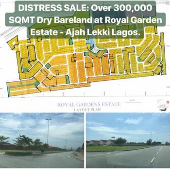 Land, Royal Garden Estate Opposite Ajuwe Police Station, Ajiwe, Ajah, Lagos, Residential Land for Sale