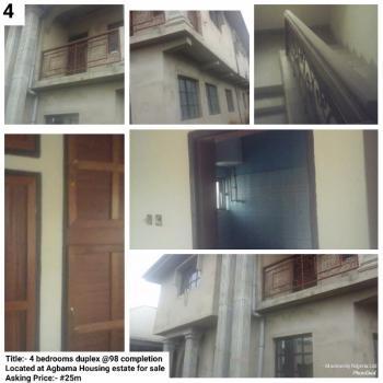 Four Bedroom Duplex, Agbama Housing Estate, Umuahia, Abia, Semi-detached Duplex for Sale