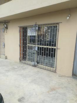 Very Beautiful Newly Renovated Open Space with Toilet Inside in a Selling Point Street, Alausa, Ikeja, Lagos, Shop for Rent