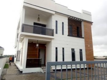 Four (4)bedroom Room Contemporary Fully Detached Duplex with Service and Laundry Room, Orchild Road, 2nd Tollgate, Lafiaji, Lekki, Lagos, Detached Duplex for Sale