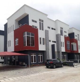 Furnished 4 Bedroom Terraced Duplex, Vintage Park Estate, Castlerock Avenue, Jakande, Lekki, Lagos, Terraced Duplex for Rent