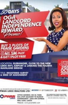 Estate Land, Dangote Refinery, Eleranigbe, Ibeju Lekki, Lagos, Residential Land for Sale