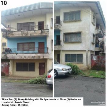 Two Storey Building, Ubakala Street, Umuahia, Abia, Block of Flats for Sale