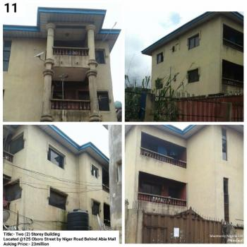 Two Storey Building, 125 Oboro Street By Niger, Umuahia, Abia, Block of Flats for Sale