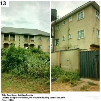 Two Storey Building, Umuobia Housing Estate, Umuahia, Abia, House for Sale