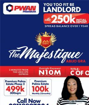 Esate Land, Abijo G.r.a, Sangotedo, Ajah, Lagos, Residential Land for Sale
