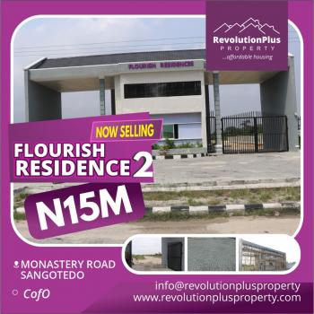 Estate Land C of O, Behind Shoprite Off Monastery Road, Sangotedo, Ajah, Lagos, Residential Land for Sale