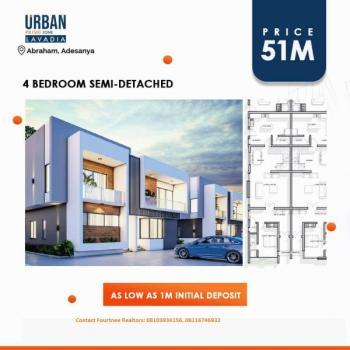 Lavadia (urban Prime One), Abraham Adesanya Estate, Ajah, Lagos, Semi-detached Duplex for Sale