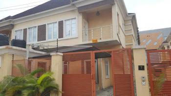 Luxurious 4 Bedroom Semi Detached Duplex with Bq, Chevy View Estate, Lekki, Lagos, Semi-detached Duplex for Rent