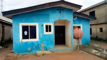 Setback 2 Bedroom Bungalow and a Mini-flat Sitting on Half Plot of Land., Alagbado, Ijaiye, Lagos, Detached Bungalow for Sale