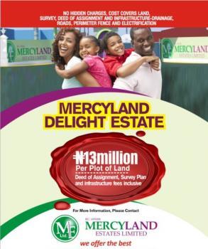 Mercyland Delight Estate, Awoyaya, Ajah, Lagos, Land for Sale