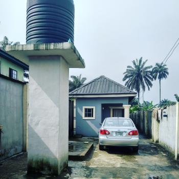 Newly Built 4nos. Self-contained House with Steady Electricity, New Layout Estate Off Rumuokwurusi Tank, Rumuokwurusi, Port Harcourt, Rivers, House for Sale