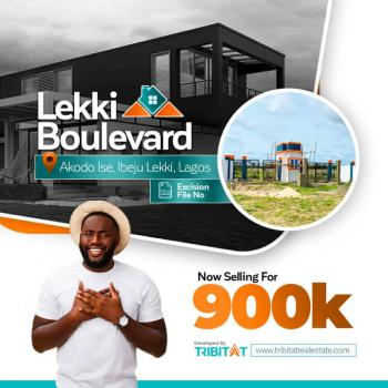 Prime Land, 5 Minutes Drive From Lacampaigne Tropicana, Akodo Ise, Ibeju Lekki, Lagos, Residential Land for Sale