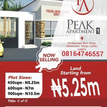 Plots of Land Available, Oribanwa, Ibeju Lekki, Lagos, Mixed-use Land for Sale