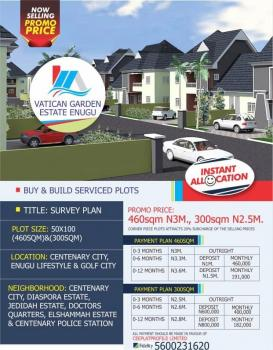 Estate Land in a Fast Developing Area, Centenary City Enugu Lifestyle and Golf City, Enugu, Enugu, Residential Land for Sale