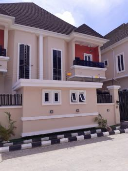 4 Bedroom Semi-detached Duplex with a Maids Room  with All Rooms Ensuite, Fitted Kitchen, Chevron Drive, Chevy View Estate, Lekki, Lagos, Semi-detached Duplex for Sale