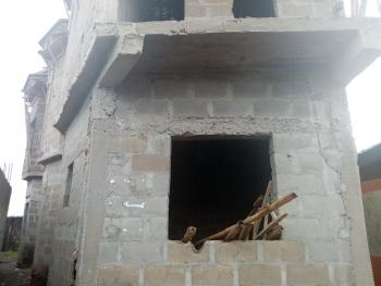 Building Consists Four Numbers of Two Bedroom at Igando, Igando Lagos, Igando, Ikotun, Lagos, Block of Flats for Sale