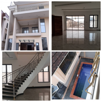 5 Bedroom Mansion, All Ensuite with Pent House, Off Banana Island, Mojisola Onikoyi Estate, Ikoyi, Lagos, Detached Duplex for Sale