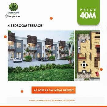 Westwook Nooks, Sangotedo, Ajah, Lagos, Terraced Duplex for Sale
