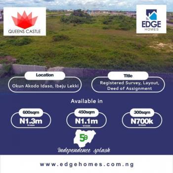 Queens Castle Estate Land, Akodo Idasa, La Campaign Tropicana Beach Resort, Akodo Ise, Ibeju Lekki, Lagos, Mixed-use Land for Sale