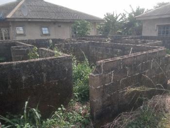 Nice Foundation of 8 Nos of Mini Flat, Victory Estate Itele, Close to Ayobo, Ipaja, Lagos, Mini Flat for Sale