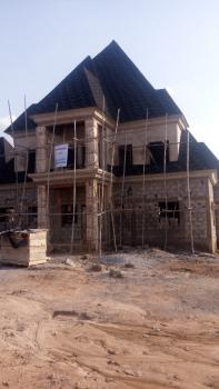 Well Built 4 Bedroom Detached House in Carcass Form Awaiting Buyers Completion to Taste., Gold City Estate, Lugbe District, Abuja, Detached Duplex for Sale