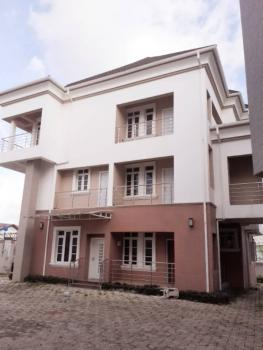 Posh 4-bedroom Terraced Duplex with a Room Bq in a Serene Environment, Wuse 2, Abuja, Terraced Duplex for Rent