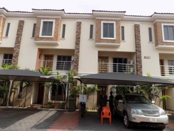 Tastefully Finished 4bedroom Terraced Duplex with Bq .24 Hours Power ,swimming Pool ,gym in Gated Estate, Ikate Elegushi, Lekki, Lagos, Terraced Duplex for Rent