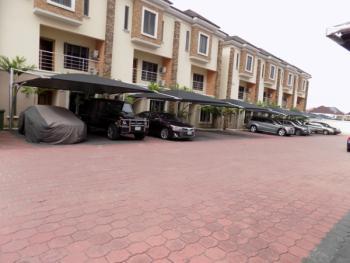 4bedroom Terraced & Bq ,24 Hrs Light with Pool, Ikate, Ikate Elegushi, Lekki, Lagos, Terraced Duplex for Rent