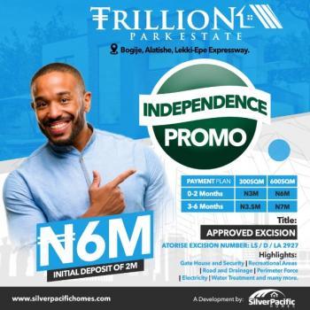 Trillion Park Estate Is a Land Located in a Serene Area, Trillion Park Estate. Alatishe Town Bogije, Bogije, Ibeju Lekki, Lagos, Residential Land for Sale