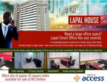 Own a Smart Office for 15 Years Long Lease at Lapal House, 235 Igbosere Road, Lapal House, Onikan, Lagos Island Opposite Magistrate Court Very Close to Mrs Filling Station, Ojodu, Lagos, Office Space for Sale