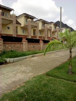 a Block of 4 Units Tastefully Finished 5 Bedroom Terraced House, Patrick Yakowa Street, Katampe Extension, Katampe, Abuja, Terraced Duplex for Sale