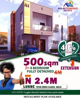 Estate Land, Airport Road, Lugbe District, Abuja, Residential Land for Sale