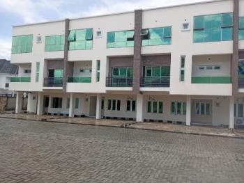 Luxury 4 Bedroom Terraced Duplex with a Room Bq,fitted Kitchen,etc., Chevron Alternative, Chevy View Estate, Lekki, Lagos, Terraced Duplex for Rent