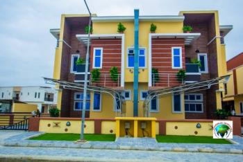 . Newly Built Smart 4 Bedroom Semi Detached with a Bq, 2nd Toll Gate Off Chevron, Lekki Phase 2, Lekki, Lagos, Semi-detached Duplex for Sale