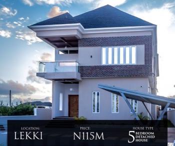 Newly Built Well Finished 5 Bedroom Fully Detached Home, Ikota Villa Estate, Lekki, Lagos, Detached Duplex for Sale