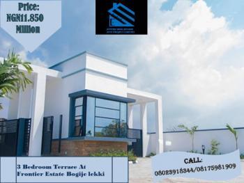 3 Bedroom Terrace, Frontier Estate Bogije, Lekki Phase 2, Lekki, Lagos, Terraced Duplex for Sale