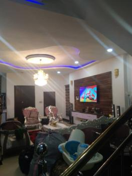 5 Bedroom Detached Duplex with a Maids Room, Fully Furnished, Has a Fitted Kitchen, Osapa London, Osapa, Lekki, Lagos, Detached Duplex for Rent