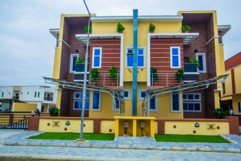 Newly Built 4 Bedroom Semi Detached Duplex with a Room Bq, 2nd Toll Gate, Orchid Hotel Road, Lekki Phase 2, Lekki, Lagos, Semi-detached Duplex for Sale